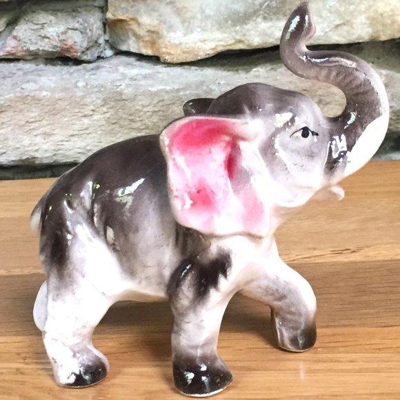 Vintage Elephant Figurine Japan